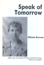 cover of Speak of Tomorrow